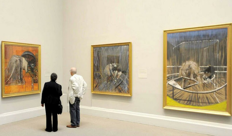 """reaction about of studies by francis bacon Free francis bacon papers, essays, and research papers  his art work such as """" three studies for figures at the base of a crucifixion"""", which was compelling   much of the literature published during the renaissance was a reaction to these ."""