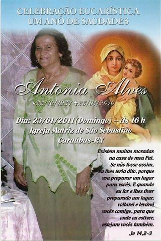 Convite Missa De 1 Ano De Saudades