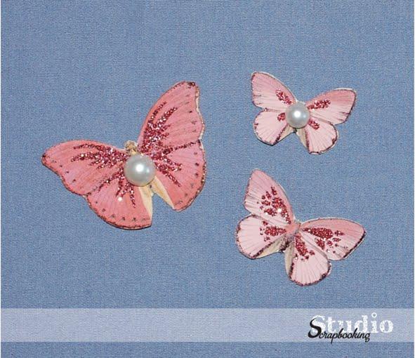 Бабочка для скрапбукинга своими руками 172