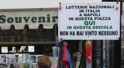 Foto divertenti, Lotteria a Napoli