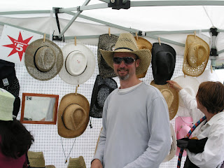 Mike the hat seller