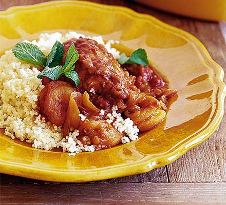 Moroccan Style Spicy Chicken & Rice - 25 Minutes to Make! Recipe from ...