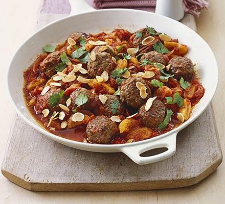 Speedy Moroccan meatballs recipe