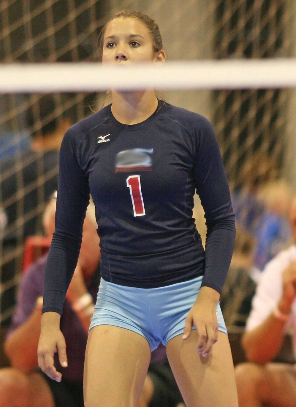 girls in volleyball tight shorts