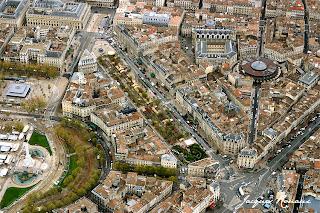 Bordeaux - Hôtel Radisson vue aerienne