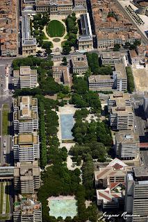 Bordeaux vue du ciel: le quartier Mériadeck