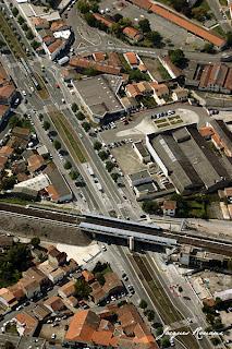 photo de la nouvelle gare SNCF de Cenon près de Bordeaux