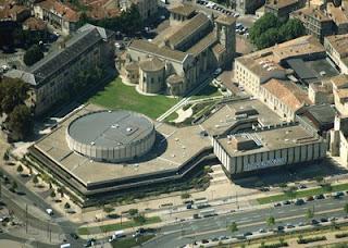 Conservatoire de Bordeaux aux couleurs de