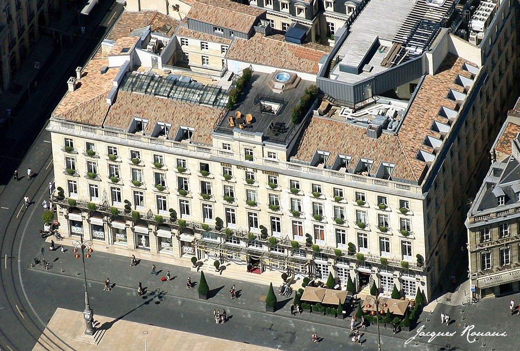 Bordeaux photo a rienne la france vue du ciel le for Hotel de luxe bordeaux