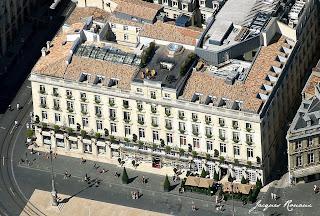 Vue aérienne de l'hôtel Régent Bordeaux