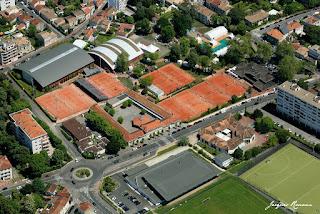 Vue aérienne du Club de Tennis Villa Primrose
