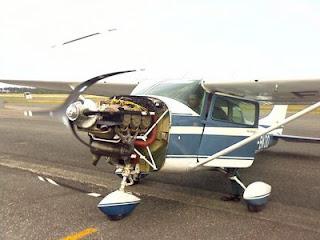 Tests moteur Cessna 182 Québec 2 fois