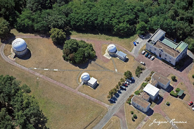 Vue aérienne des installations de l'Observatoire de Bordeaux