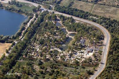 Photo aérienne du Camping de Bordeaux