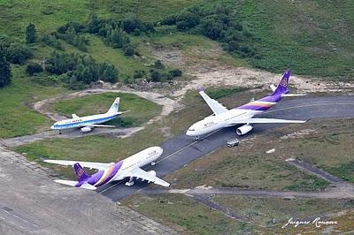 vues aérienne avions Airbus