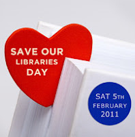 Save our libraries day, Saturday 5 Febraury 2011