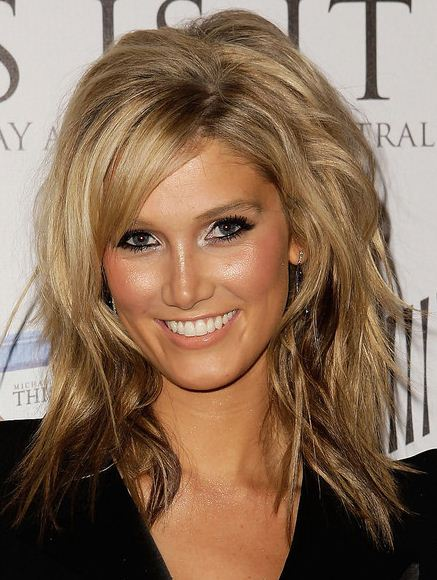 medium length hair styles 2011 for women
