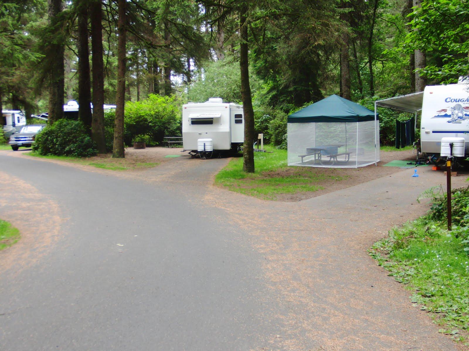 Rv Along The Oregon Coast Fort Stevens State Park