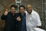 Radialistas: Carlinhos Metropolitana, Sergio Boca e DJ Akeen