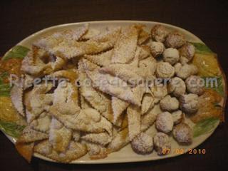 dolci di carnevale castagnole frappe