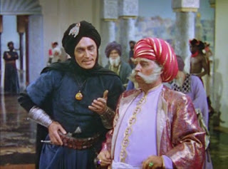 "Jaffar and King from ""The Thief of Bagdad"" (1940)"