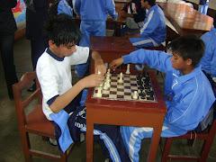 Nuestros  campeones de ajedrezos también participaron