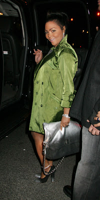 Lil Kim Marc Jacobs Dégradé spray shoulder bag