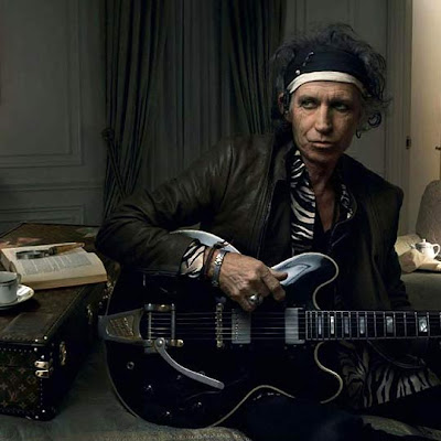 Keith Richards Louis Vuitton