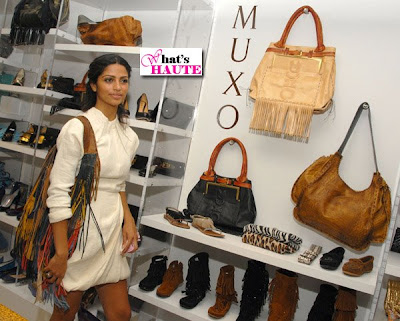 Camila Alves at Muxo Launch at Kitson Studios