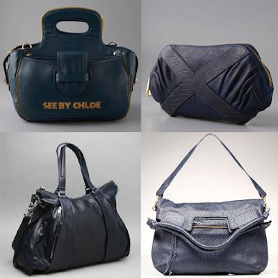Navy handbags for fall