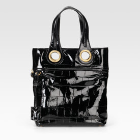 Yves St. Laurent Palma Patent Leather Tote