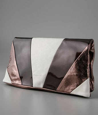 Martine Sitbon Colorblock Clutch