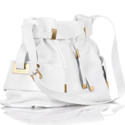Michael Kors Ruched self-tie shoulder bag