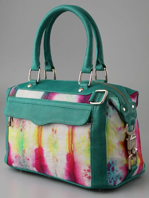 Rebecca Minkoff Tie Dye Morning After Mini Tote