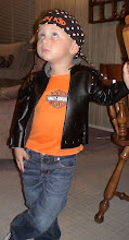 My little Harley rider!