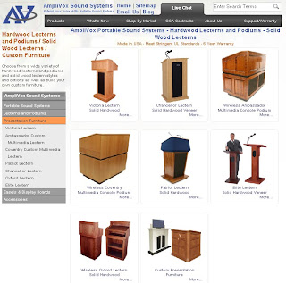 Amplivox Your One Stop Shop For Lecterns And Podiums Amplivox Sound Systems Blog