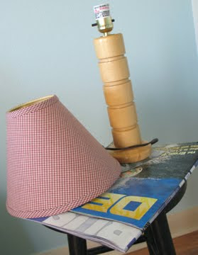 Craft Ideas Lamp Shades on Ideas With Artist Jeanne Winters  Li L Surfer Dude Gets A Lamp
