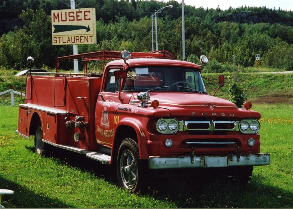 Forestville (QC) Canada  city pictures gallery : with Thibault pumper was last in service with the Trois Pistoles, QC ...