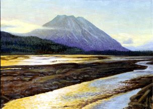 Landscape Painting by Oregon Artist Shari Erickson