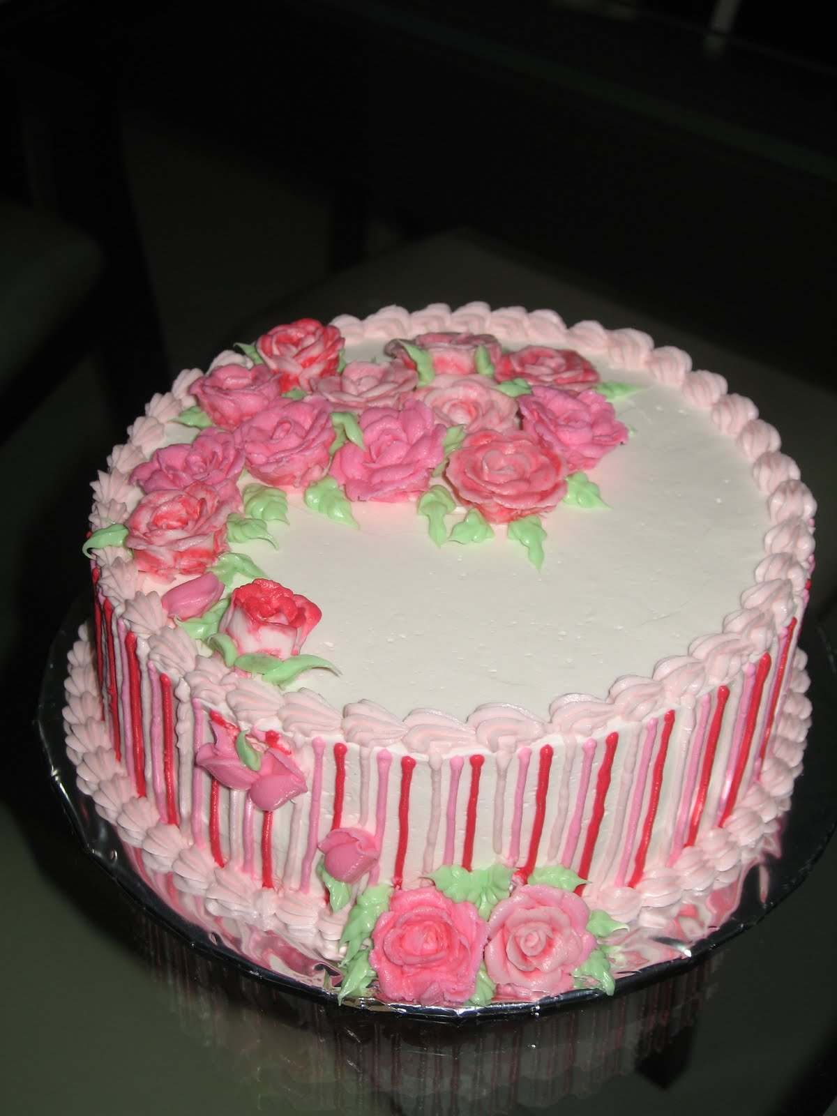Wilton Buttercream Cake Decorating Ideas : Fun In Cake Decorating: Wilton Cake Decorating Course 1