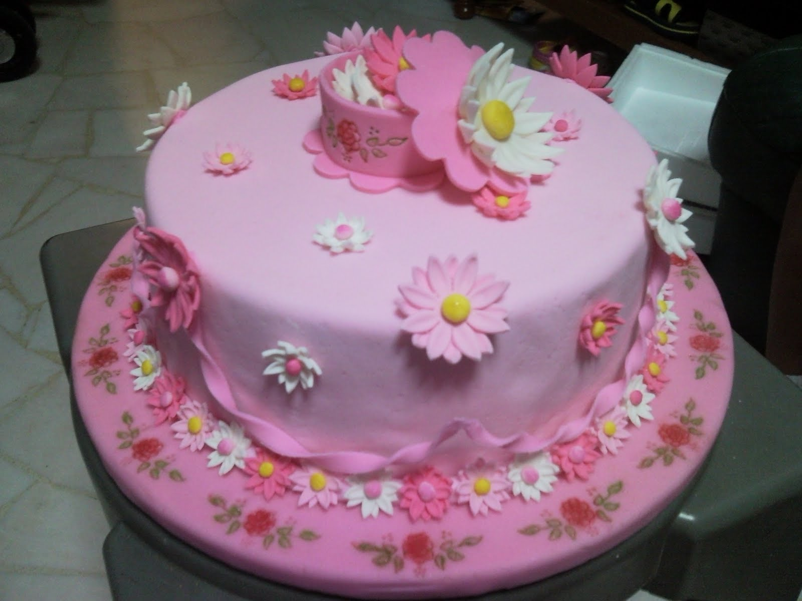 Fun In Cake Decorating: Wilton Cake Decorating Course 4