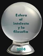 Premio Esfera al intelecto y la filosofía