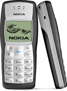 Your first mobile phone 5-7-07-nokia1100