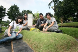 @ mimin's grave. we'll meet again in the future