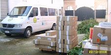 """Dicembre 2008 """"donazione alle Sorelle Clarisse di PortoViro"""""""