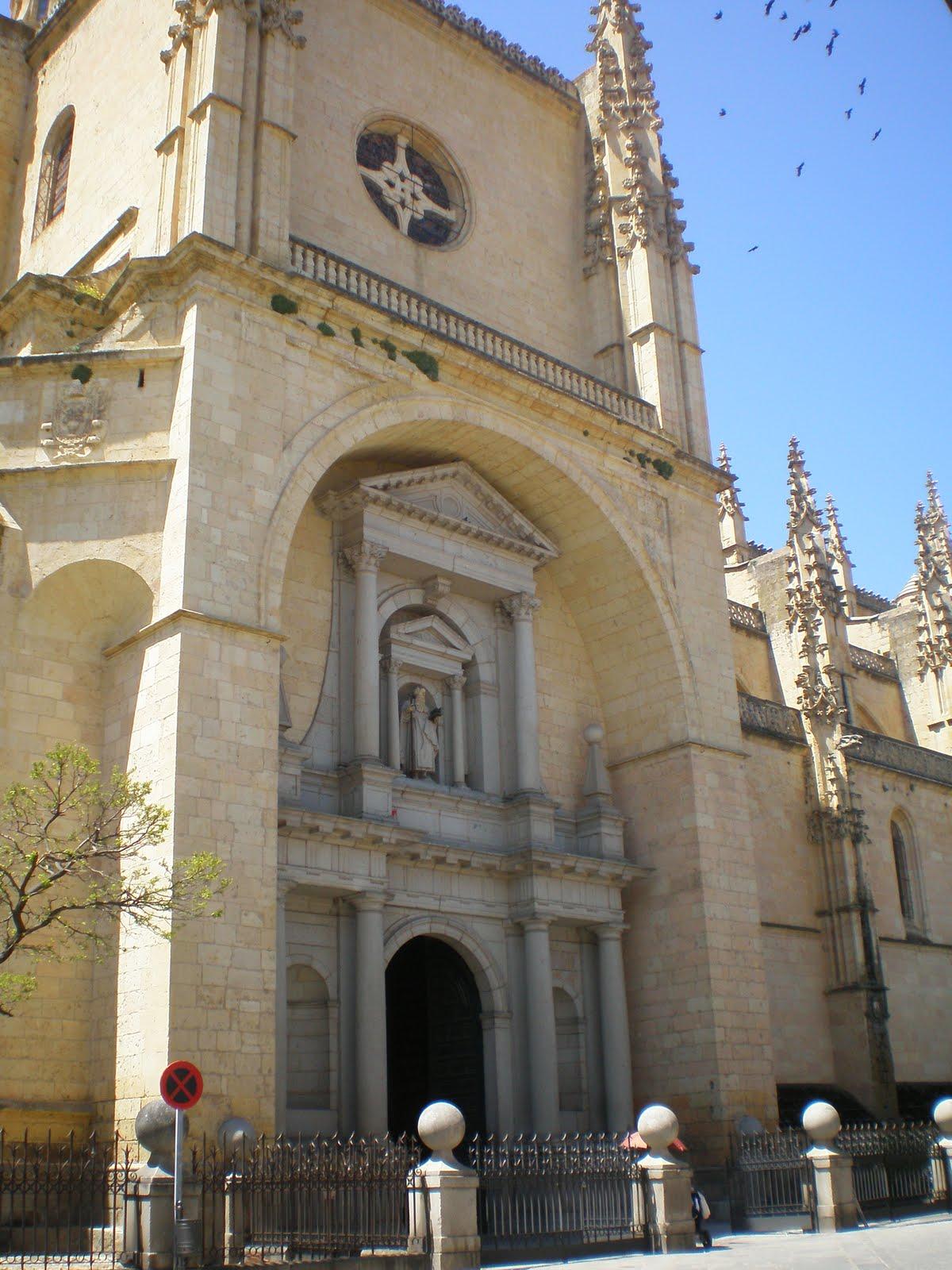 Perhonen siivet la catedral de santa mar a de segovia - Puerta de segovia ...