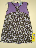 Dress Pyshel PurpleFlower