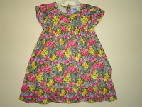 Dress Pyshel Motif Many Flower