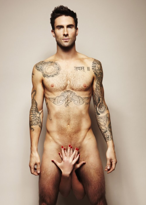 adam levine testicular cancer. Adam Levine Gets Naked For