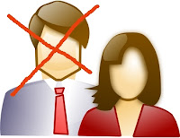 clipart of man and woman